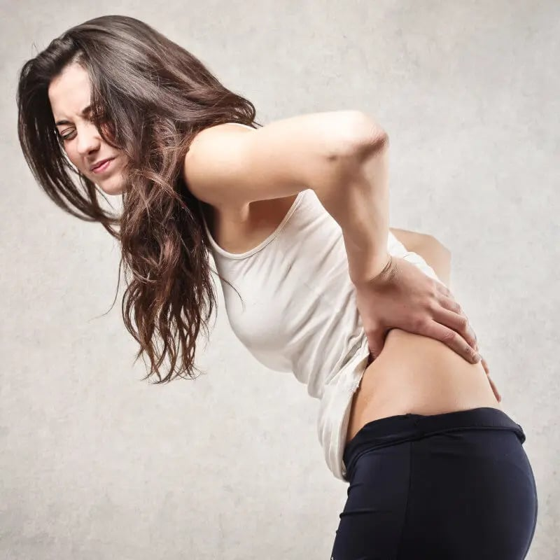 back pain cause and exercise