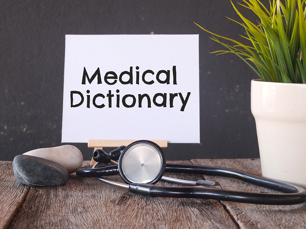 Our medical dictionary as a featured image