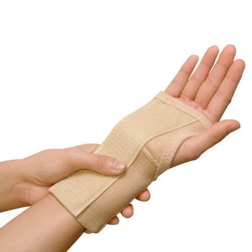 A wrist splint.