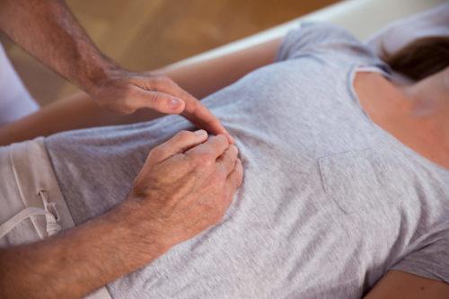 Brustkorbschmerzen