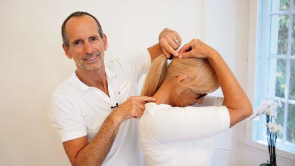Kopfschmerzen Faszienrolle