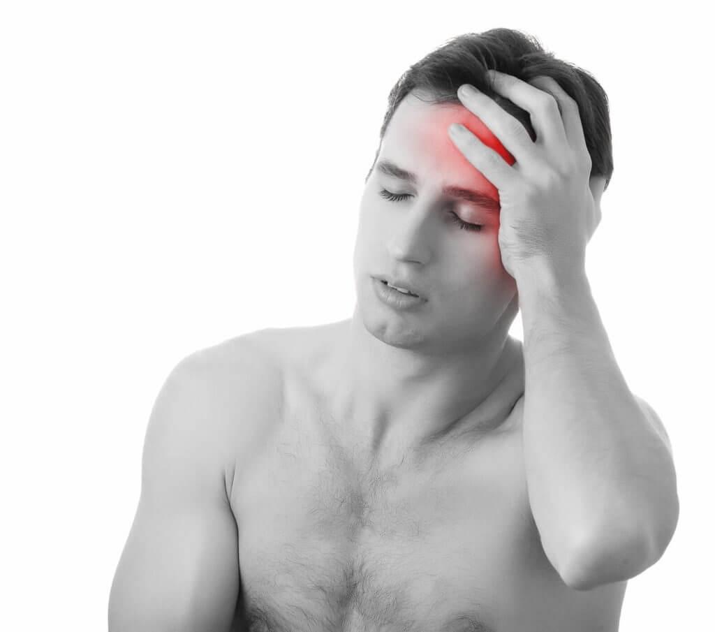 Kopfschmerzen im Stirnbereich