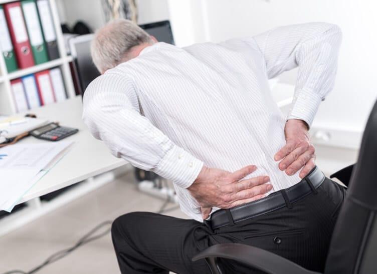 Rückenschmerzen beheben.