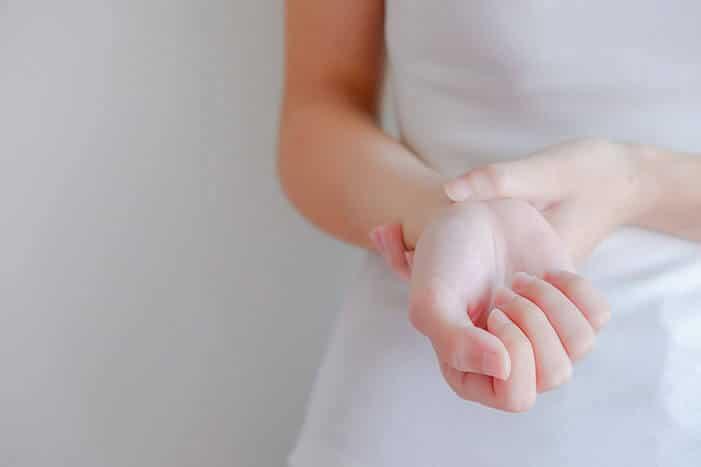 Handgelenkschmerzen