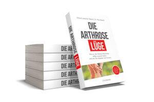"""Buchcover der """"Arthrose Lüge"""" lehnt an fünf weiteren Exemplaren"""