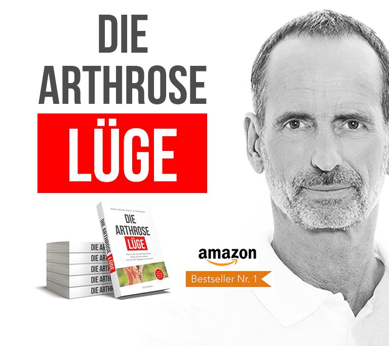 """Roland Liebscher-Bracht mit seinem Buch """"Die Arthrose Lüge"""""""