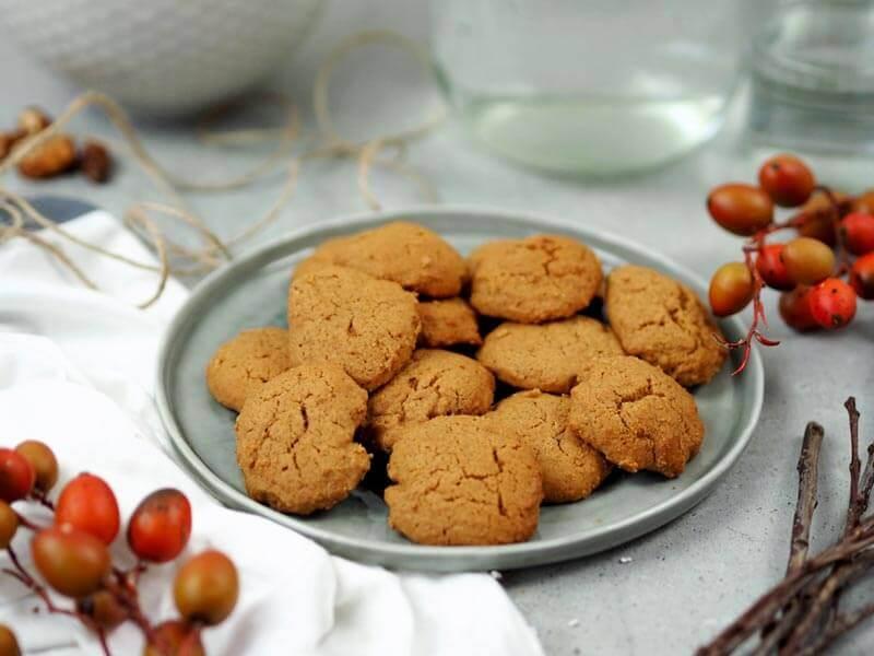 Vegane Ingwer-Kekse