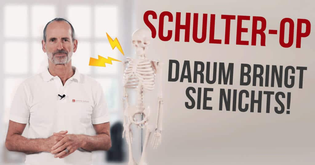 Schmerzspezialist Roland Liebscher-Bracht erklärt, warum viele Schulter-Operationen nichts bringen