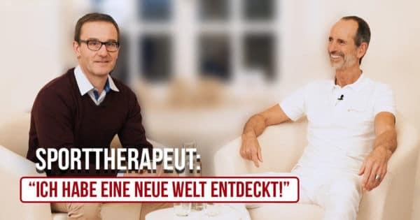 Sporttherapeut Christian Gut