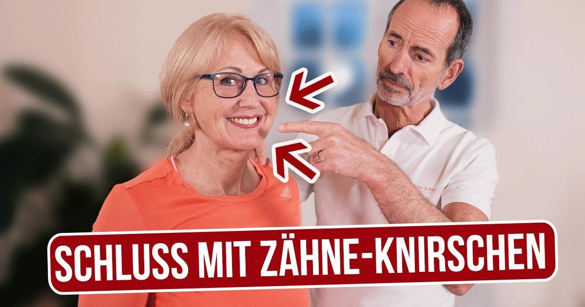 """Titelbild eines Videos """"Schluss mit Zähne-Knirschen"""" mit Roland Liebscher-Bracht"""