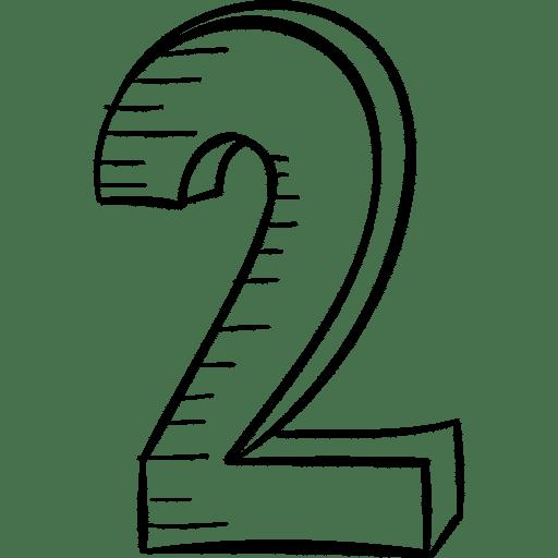 Die Zahl Zwei