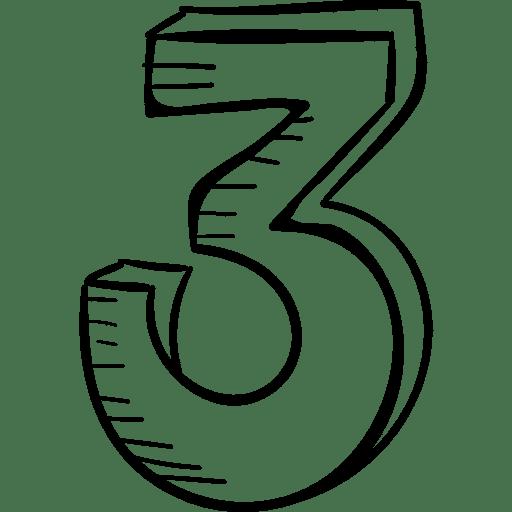Die Zahl Drei