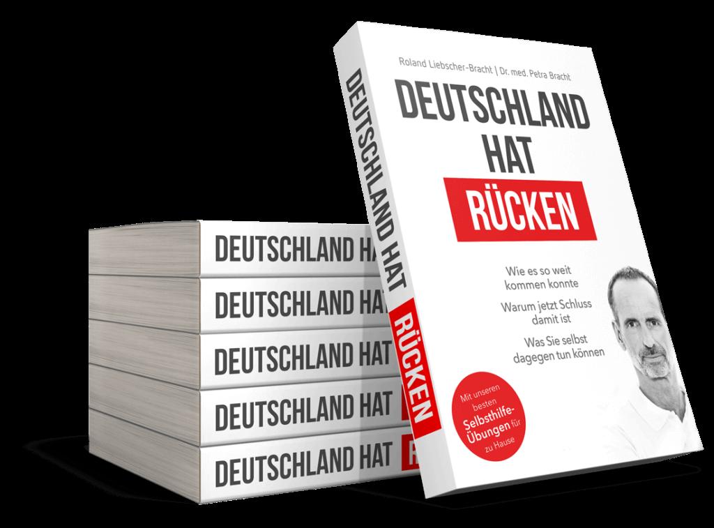 """Das Buch """"Deutschland hat Rücken"""" von Roland Liebscher-Bracht und Dr. med. Petra Bracht"""