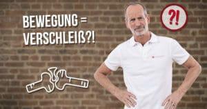 Roland Liebscher-Bracht klärt über Gelenkverschleiß durch Bewegung auf
