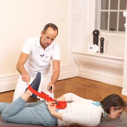 Übung bei Kniekehlenschmerzen