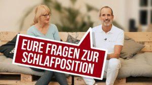 Roland Liebscher-Bracht gibt Antworten auf die häufigsten Fragen zur richtigen Schlafposition gegen Rückenschmerzen