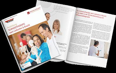 Infoflyer zur Ausbildung Schmerztherapie nach Liebscher und Bracht