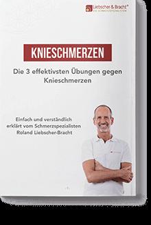 "Pdf - Ratgeber mit links dem Deckblatt ""Knieschmerzen - Die 3 effektivsten Übungen gegen Knieschmerzen"""