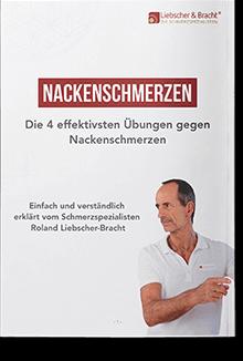 Auf dem Titelbild ist Roland abgebildet. Er erklärt einfach und verständlich die 4 effektivsten 4 Übungen gegen Nackenschmerzen.