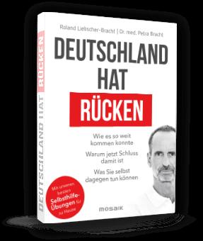 """Cover vom Buch """"Deutschland hat Rücken"""" von Roland Liebscher-Bracht und Dr. med. Petra Bracht"""