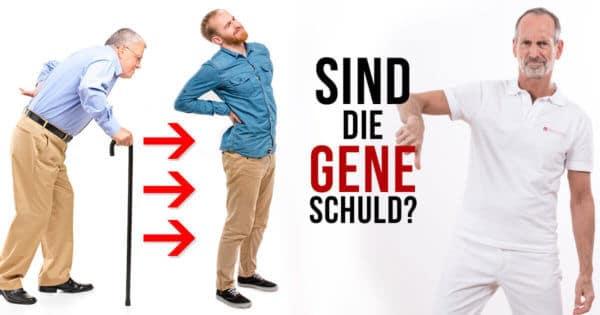 Sind die Gene Schuld an Rückenschmerzen?
