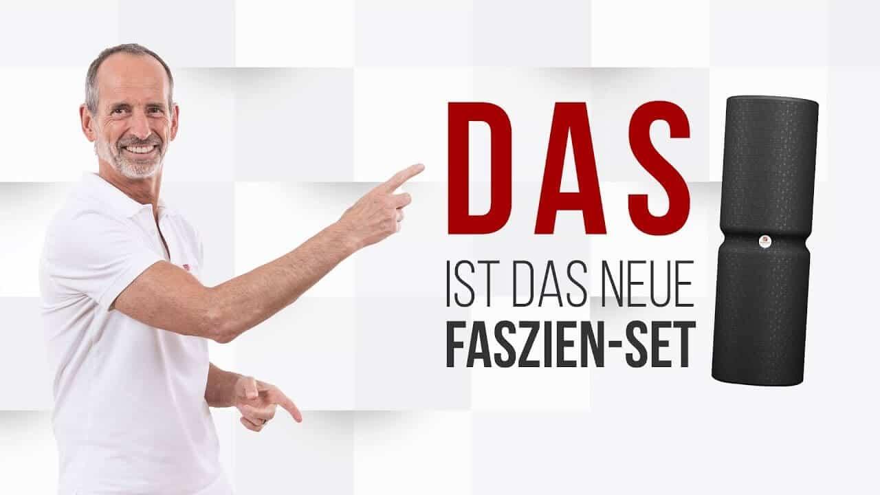 Neue Faszienrollen & Faszien-Set von Liebscher & Bracht