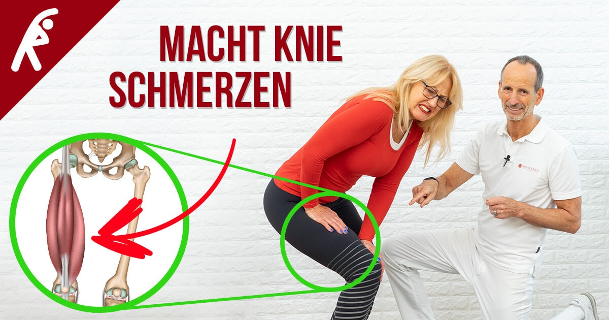 190722 Dieser Muskel ist verantwortlich für über 90 aller Knieschmerzen FB - Meniskus-Schmerzen