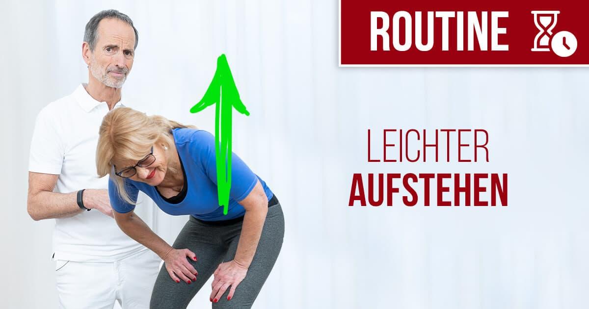 190731 Routine leichter aufstehen FB - Schmerzen am ganzen Körper lindern: So kann's gehen!