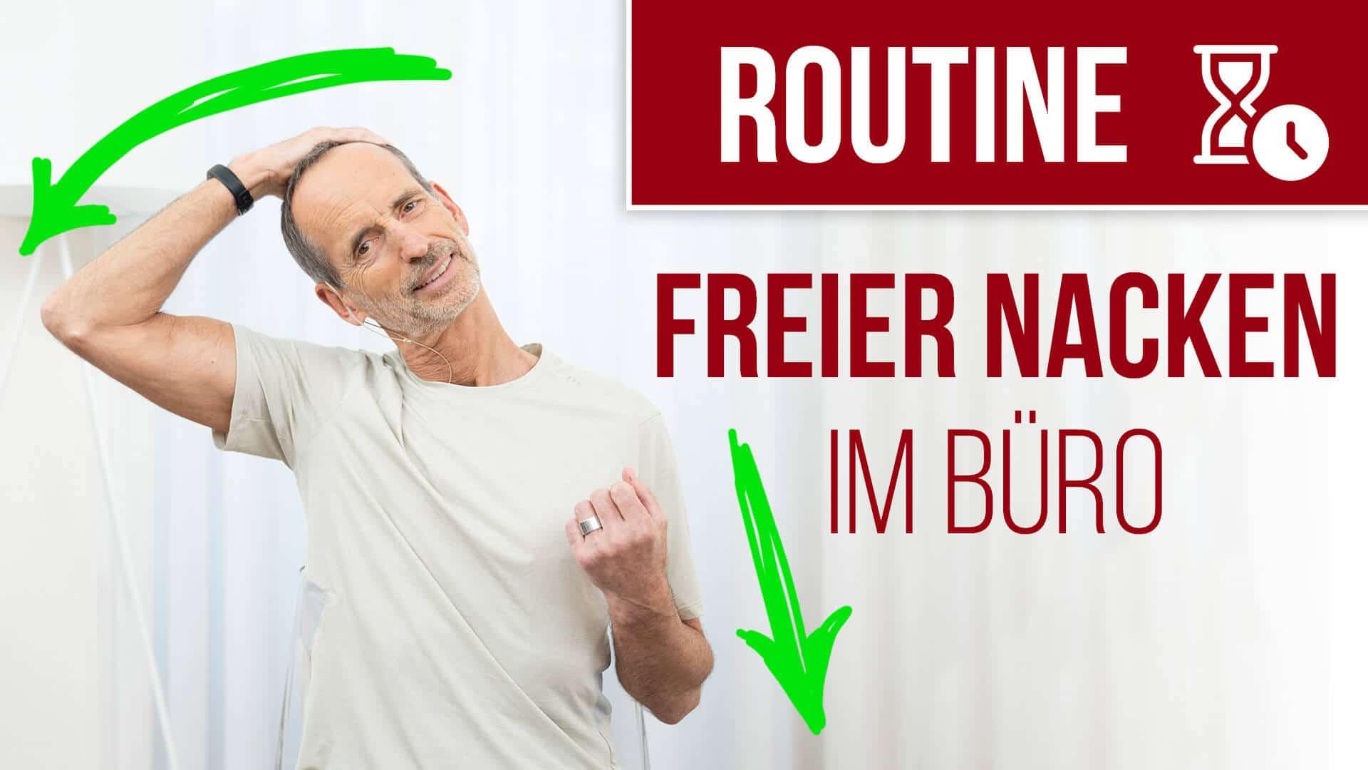 190828 Routine Büro Nacken - Deine Routine für eine schmerzfreie und bewegliche Schulter