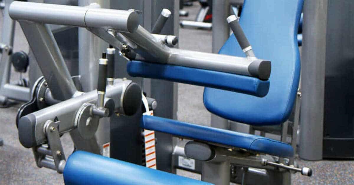 Beinstrecker-Gerät für das Training gegen Knieschmerzen