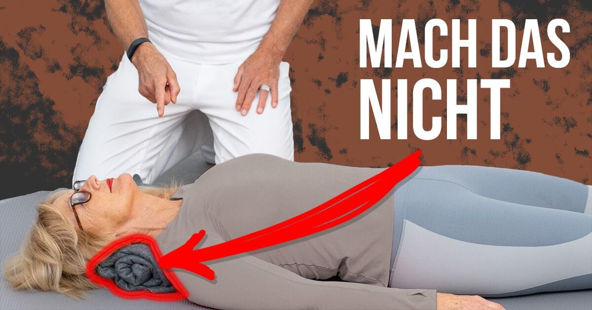 191118 Richtig schlafen gegen Nackenschmerzen FB - Nackenschmerzen