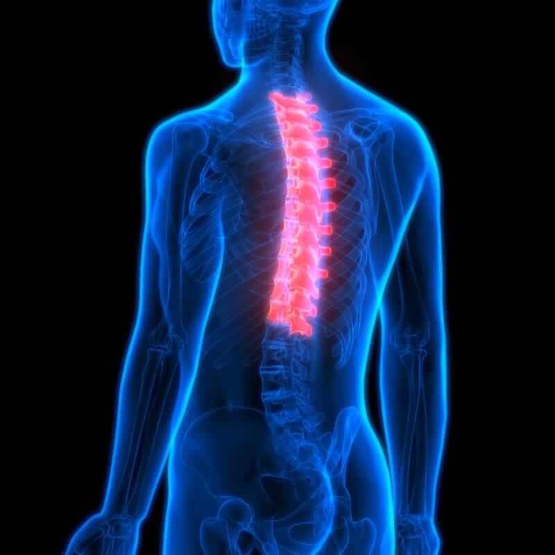 Schmerzen im rücken und brennen in der brust