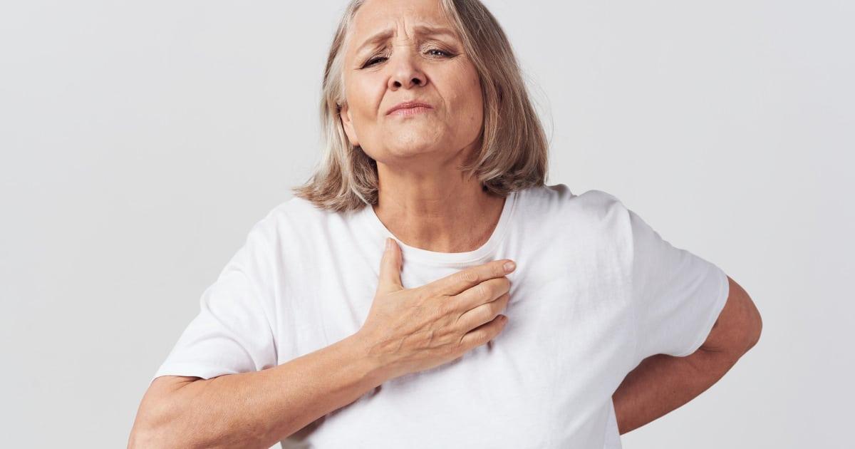 Brennen in der brust und hals